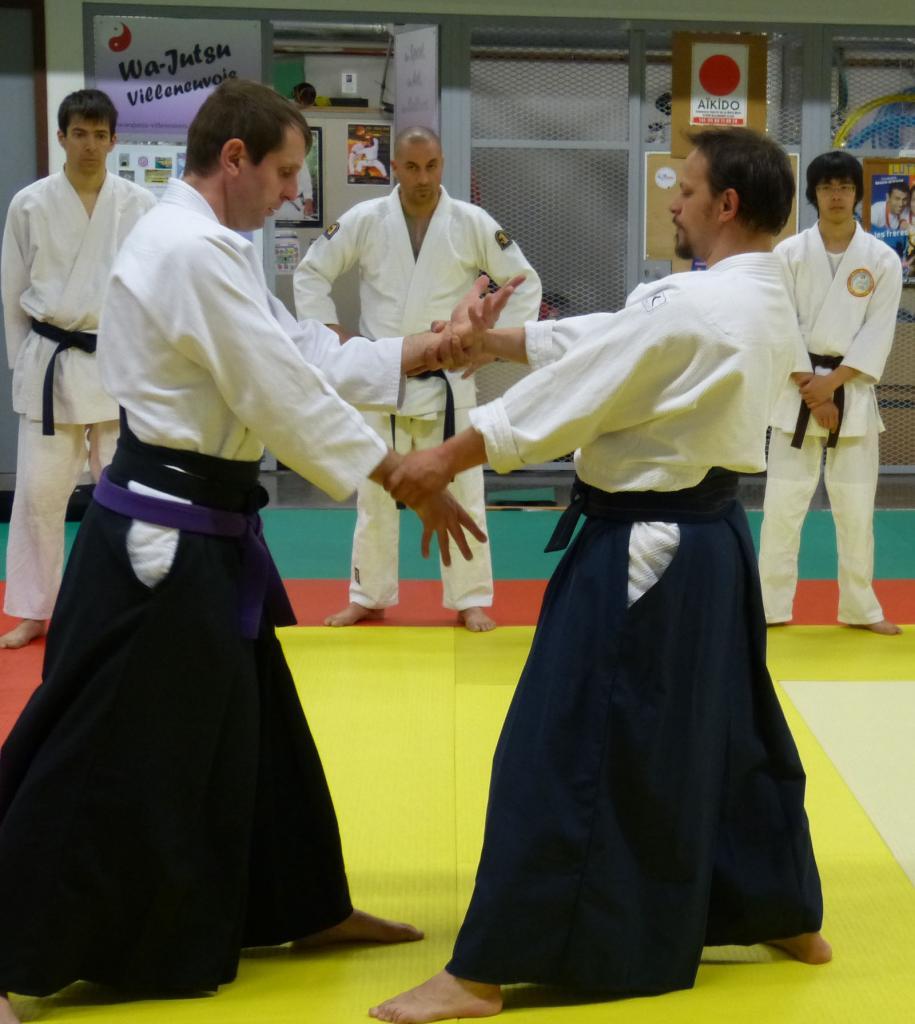 Démonstration en hakama