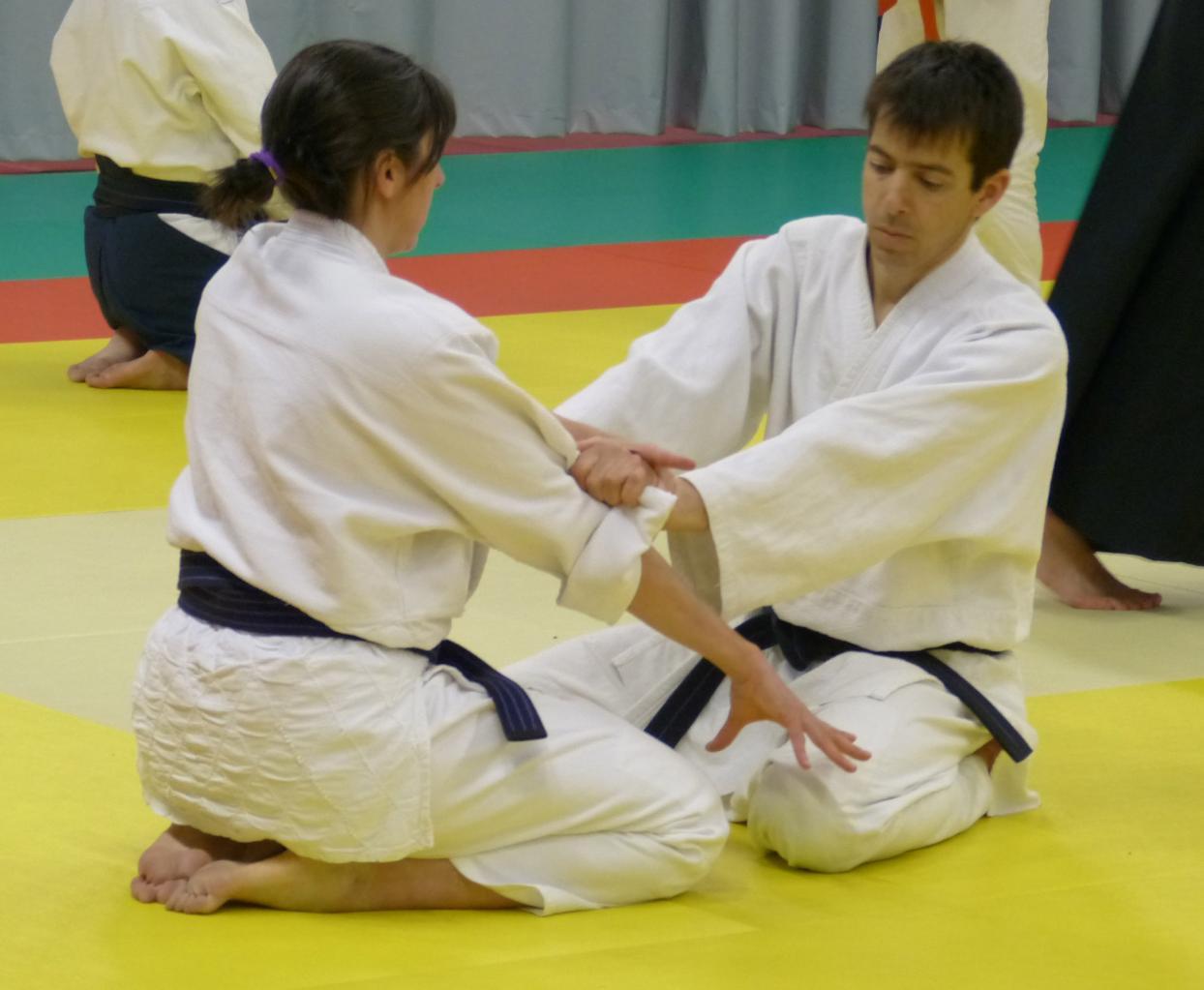 Etude Kata à genoux