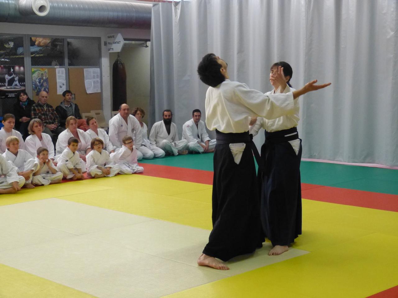Démonstration technique Kagami Biraki Villeneuve sur lot 7 janvier 2017