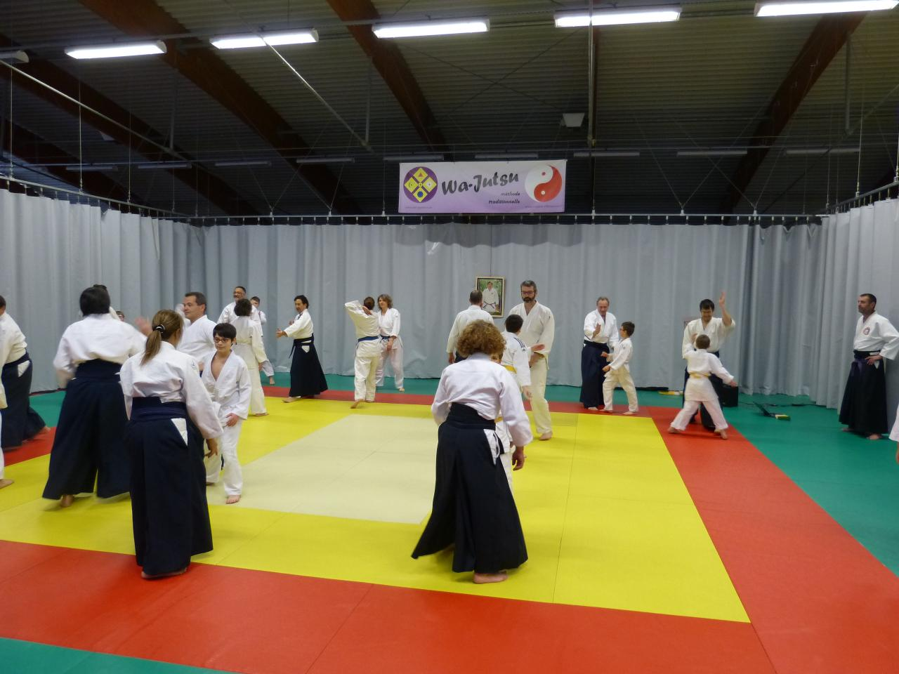 Kagami -Biraki WJV, mode d'entraînement, 13 janvier 2018