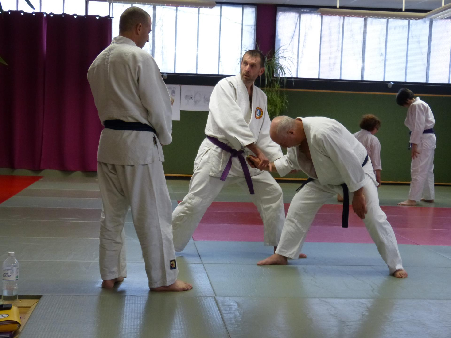 Week-end préparation examens gradés dojo Wa-Jutsu Agen février 2019