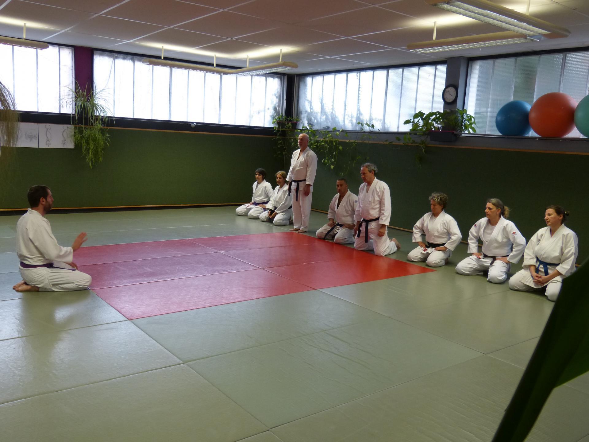 Week-end préparation examens gradés dojo Wa-Jutsu Agen mars 2019