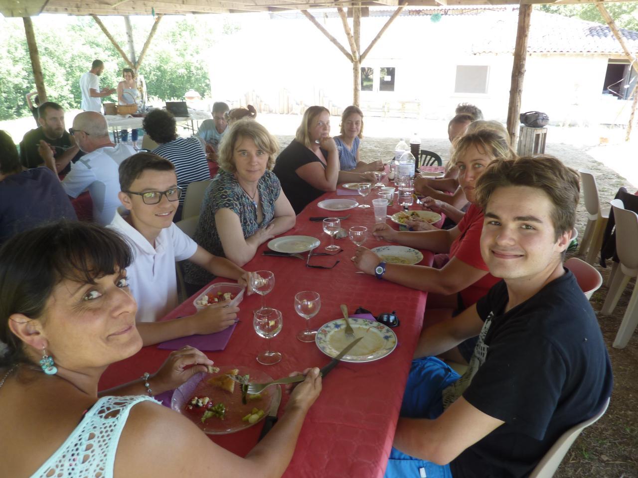 Sortie fin de saison Wa-Jutsu Agenais et Villeneuvois 25 juin 2017 St Pierre de Clairac