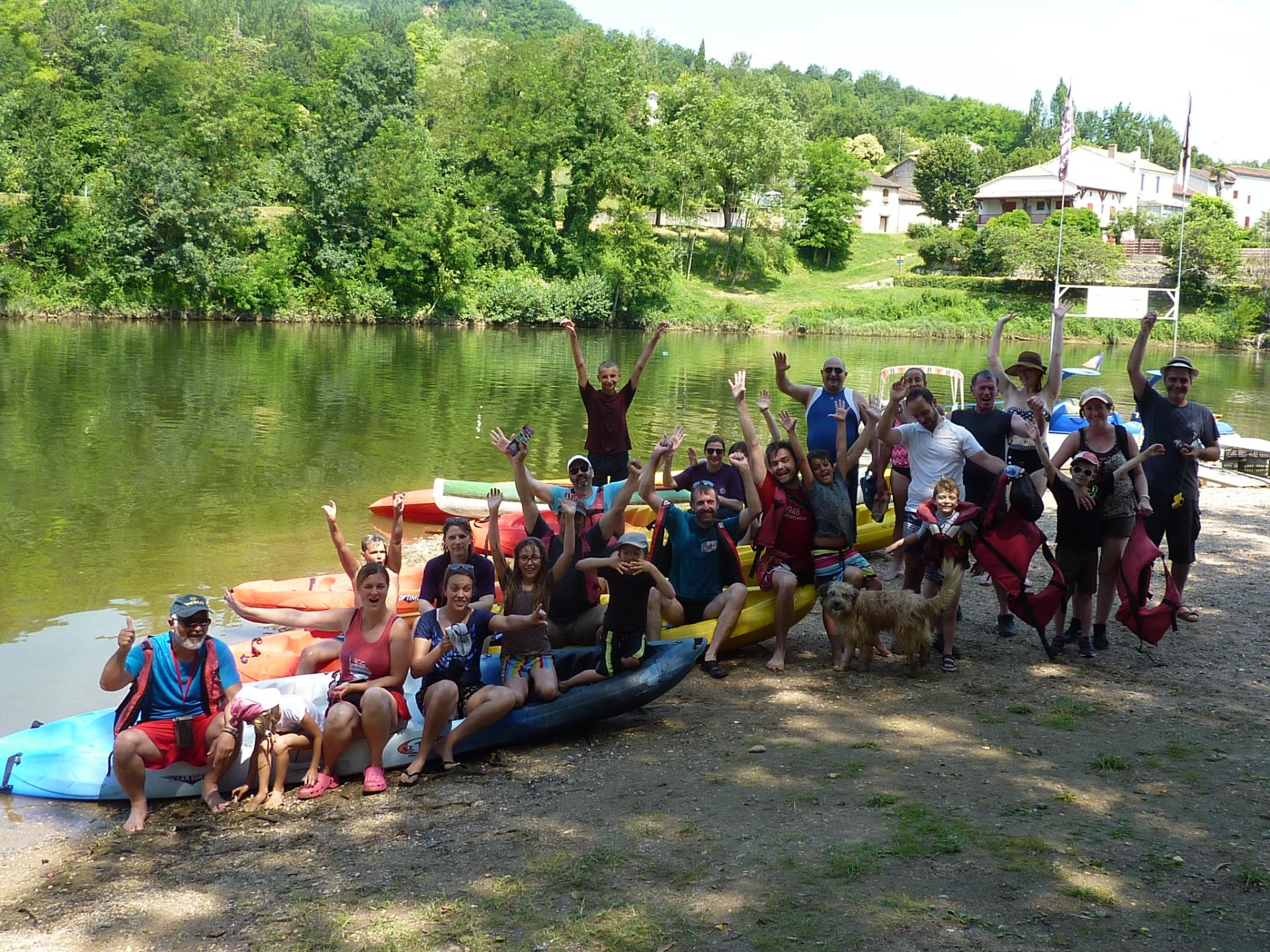 Sortie fin de saison Wa-Jutsu Villenevois et Agenais 1er juillet 2018 Castelmoron