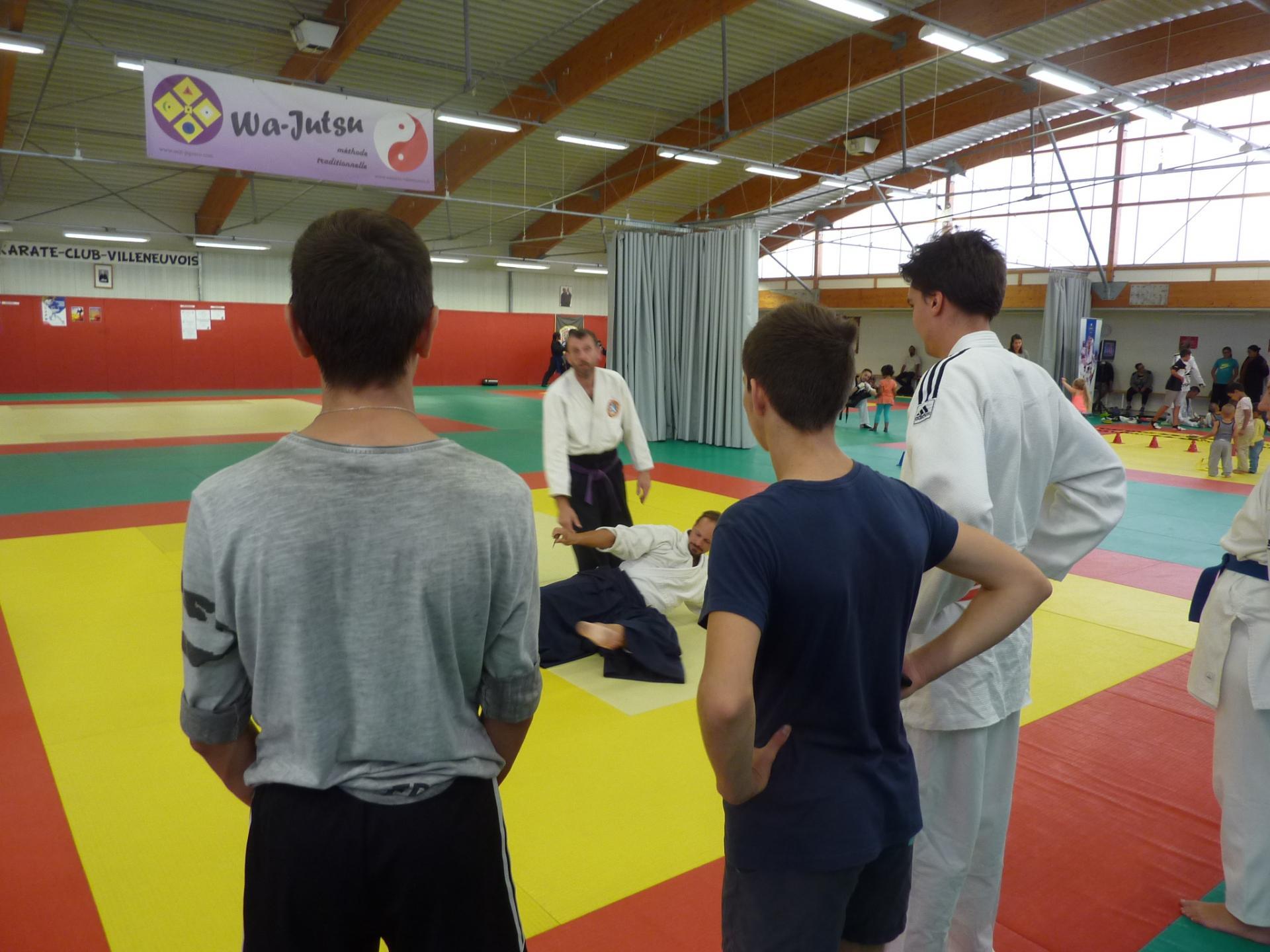 Journée Portes Ouvertes Associations sportives 9 sept.2018 Villeneuve